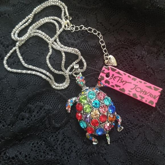 Betsey Johnson Sea Turtle Necklace